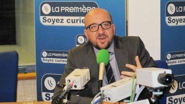 """""""Je refuse la fatalité"""" a déclaré à plusieurs reprises Charles Michel à propos d'ArcelorMittal"""