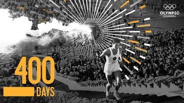 400 jours avant le début des Jeux de Tokyo 2020
