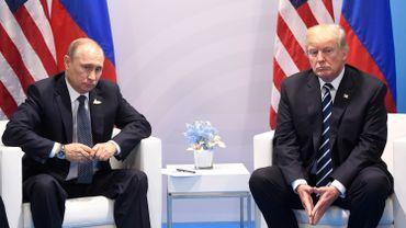 G20 à Hambourg: début du premier entretien entre Trump et Poutine en marge du sommet
