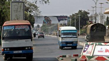 Une rue de Bujumbura, le 2 août 2015