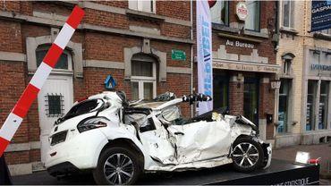 En Belgique, les passages à niveau font moins de victimes, mais toujours autant d'accidents.