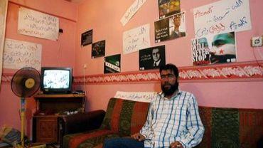 Un rebelle kurde, Ubed Muse, dans un refuge à Antioche, au sud de la Turquie, le 24 juillet 2012