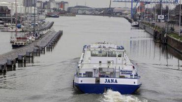 Le trafic global a progressé de 7%, ce qui s'est traduit par le transport de près de 7 millions de tonnes sur le canal au cœur de la capitale.