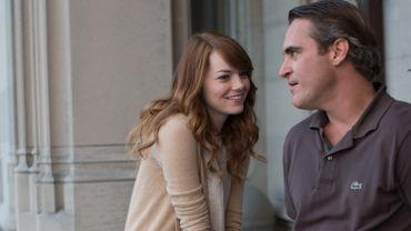 """Aux côtés de Joaquin Phoenix, Emma Stone tourne pour la deuxième fois pour Woody Allen dans """"L'homme irrationnel"""""""