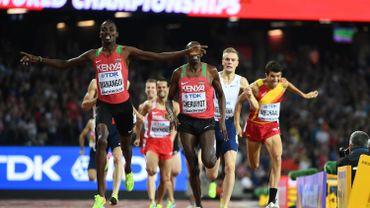 Manangoi sacré sur 1500m, le Kenya réussit le doublé