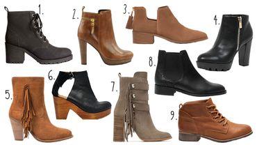 La saison des boots est ouverte.