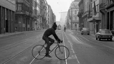 La journée sans voiture à Bruxelles en 1973