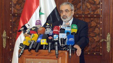 Omrane al-Zohbi en mai dernier à Damas