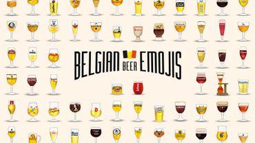 """Les emojis de la campagne """"Fières de nos Bières"""""""