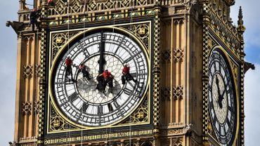 Le dernier grand nettoyage de Big Ben remontait à 2010