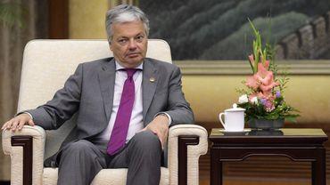 Didier Reynders, ne s'est pas montré aussi affirmatif que son collègue de l'Asile, Theo Francken, à propos de la situation à Bagdad en termes de sécurité.