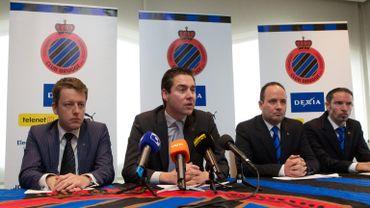 Conférence de presse à Bruges