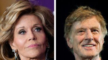 Jane Fonda et Robert Redford