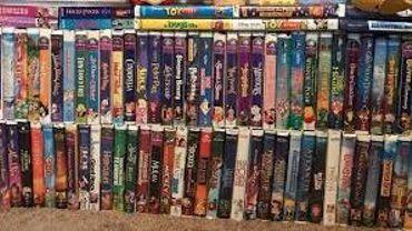 Vos vieilles cassettes VHS de Disney valent peut-être de l'or
