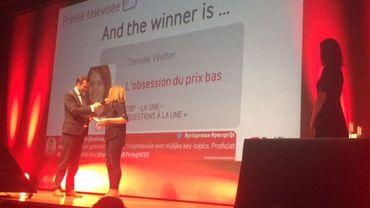Prix Belfius de la presse: la RTBF récompensée aux côtés de Médor et L'Echo