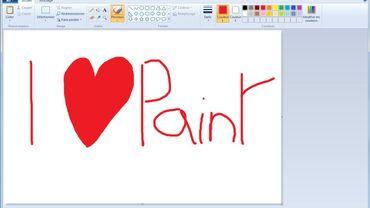 """Le logiciel de dessin Microsoft Paint est sauvé """"pour le moment"""""""