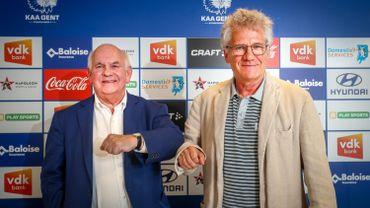 Ivan De Witte et Laszlo Bölöni en des temps meilleurs...