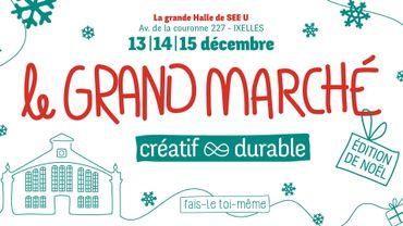 Fais-le toi-même, le marché de Noël durable et créatif à Bruxelles