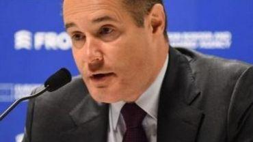 Le directeur de l'agence européenne Frontex, Fabrice Leggeri.