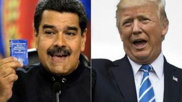 Entre Donald Trump et Nicolas Maduro, rien ne va plus.