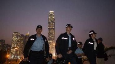 La police démantèle un site des manifestants prodémocratie à Hong Kong