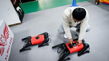 AlphaDog, un robochien chinois qui court plus vite que son ombre