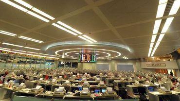 Illustration : la bourse de Hong Kong