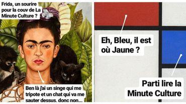 """"""" La minute Culture """", le compte instagram dédié à l'Histoire de l'art pour se cultiver en 1 minute"""