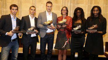 Van Alphen et Hellebaut Spikes d'Or 2012