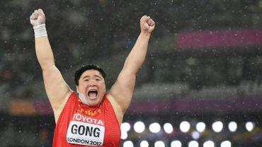La Chinoise Gong Lijiao enfin sacrée au poids