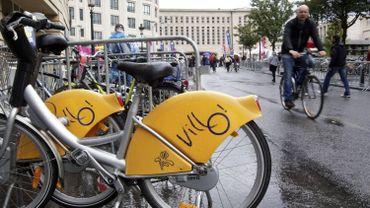 Le service de vélos partagés Villo! a connu une nouvelle progression de son nombre d'utilisations en 2017, qui est passé à 1.615.160, contre 1.577.811 en 2016.