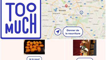 """""""Too much"""", l'appli pour partager la nourriture qu'on a en trop"""