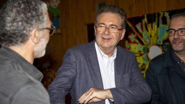 Rudi Vervoort champion des voix de préférence.
