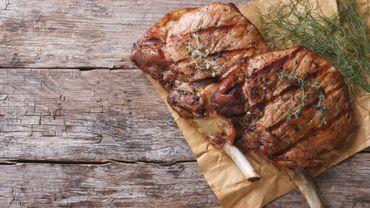 Côte de bœuf au beurre de thym