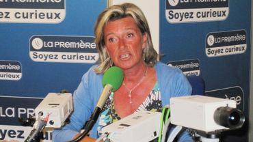 Françoise Bertieaux était l'invitée de Matin première, ce mercredi