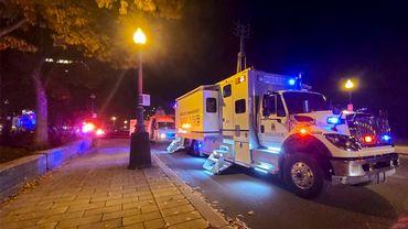 Le suspect de l'attaque à Québec accusés pour deux meurtres et cinq tentatives de meurtres