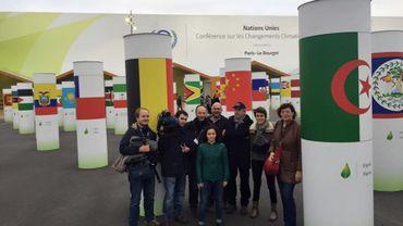 L'équipe d'Alors on change à la COP21