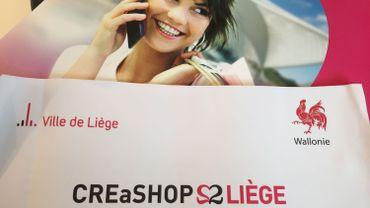 CREaSHOP Liège: 2,5 ans d'aide financière pour les commerçants