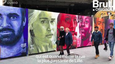 À Lille, les street artists s'emparent des murs de la ville