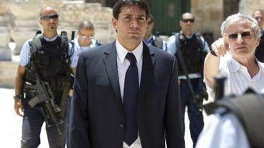 Le vice-ministre de la Défense Danny Danon à Jérusalem-est, le 20 juillet 2010
