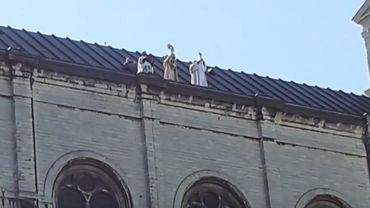 La messe a été célébrée mercredi à midi.