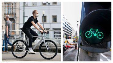 Le vélo de plus en plus présent dans la capitale (images d'illustration)