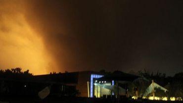 Bombardements sur Trioli