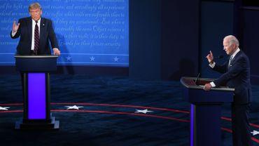 A défaut de débat, duel télévisé à distance entre Trump et Biden