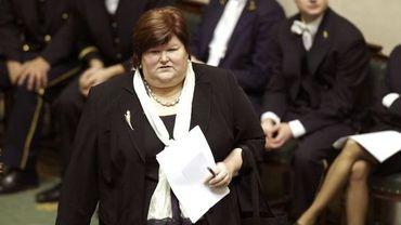 Maggie De Block (Open-VLD), secrétaire d'Etat à l'Asile et l'Immigration