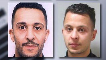 Les frères Brahim et Salah Abdeslam.