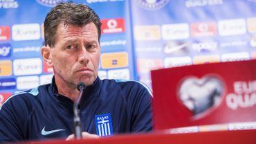 Michael Skibbe, entraîneur de la Grèce