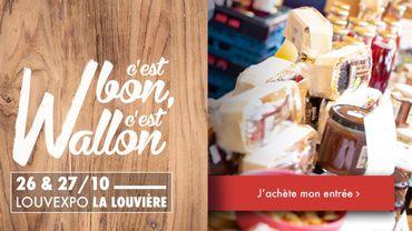 Ce week-end, le Louv Expo à La Louvière accueille le salon C'est Bon, c'est Wallon