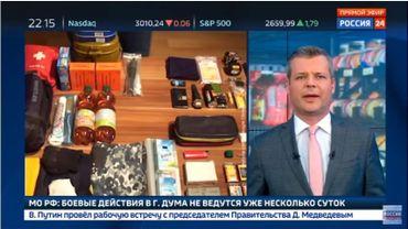 Quand la télévision russe prépare la population à la 3ème guerre mondiale