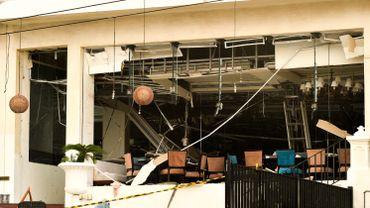Un des bâtiments détruits lors de l'attentat